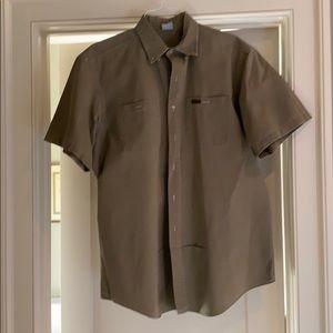 Cathartic Men's XL short sleeve button down